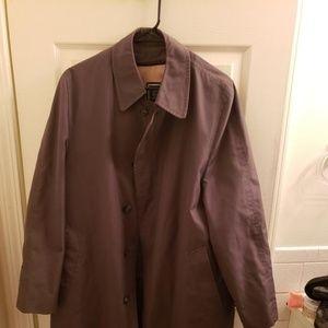 Dior Gray Men's Monsieur Overcoat Coat 38R